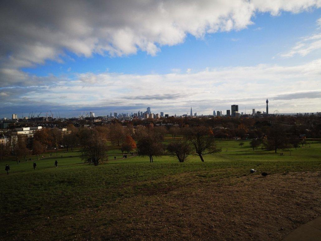 Aussicht vom Primrose Hill