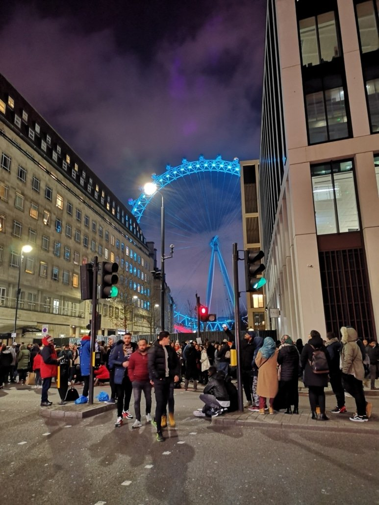 London Eye an Silvester