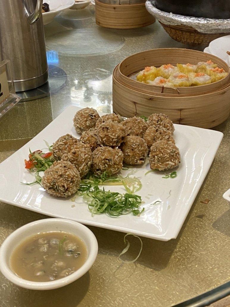 Fishballs und Dumplings